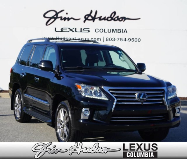 Pre-Owned 2015 Lexus LX 570 Navigation, Luxury Package w/Pre-Collision System, Mark Levinson