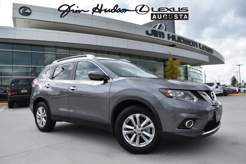 Pre-Owned 2016 Nissan Rogue SV LEATHER/ALU WHEELS