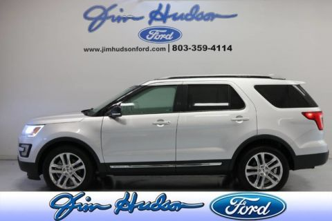 Pre-Owned 2017 Ford Explorer XLT CPO NAVI LEATHER BLIND SPOT MONITOR 20 INCH POLISHED WHEELS