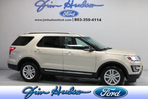 Pre-Owned 2017 Ford Explorer XLT CPO NAVI LEATHER TECH PACKAGE BLIS FOOT ACTIVE LIFTGATE