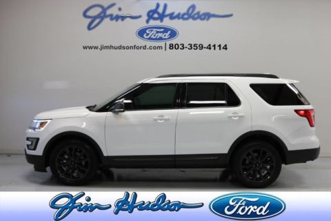 Pre-Owned 2017 Ford Explorer XLT SPORT APPEARANCE PACKAGE NAVI 20 INCH WHEELS LEATHER SUEDE I