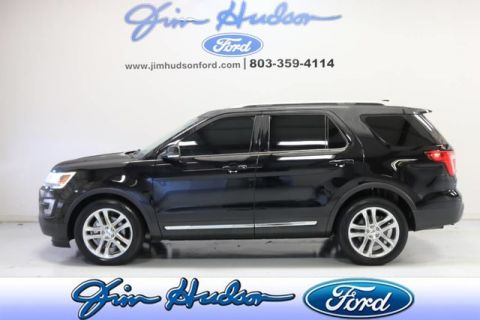 Pre-Owned 2017 Ford Explorer XLT NAVI PANO ROOF LEATHER 2ND ROW BUCKET SEATS HEATED SEATS 20