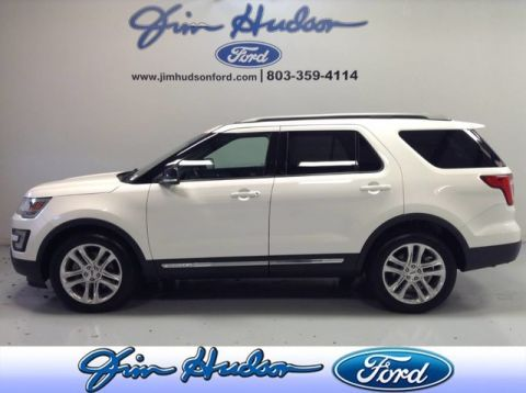 Pre-Owned 2017 Ford Explorer XLT NAVI LEATHER 20 INCH POLISHED WHEELS POWER LIFT GATE