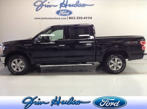 Pre-Owned 2019 Ford F-150 XLT 4WD SuperCrew CPO NAVI 5.0 V8 DUAL POWER HEATED SEATS STEP R