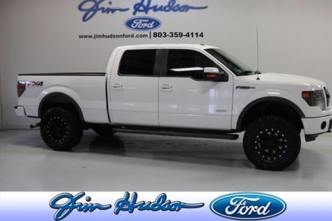 Pre-Owned 2014 Ford F-150 4WD SuperCrew FX4 3.5 ECOBOOST LIFTED HEATED COOLED SEATS REMOTE