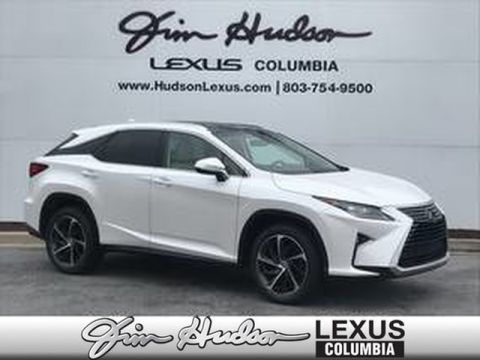 Pre-Owned 2017 Lexus RX 350 L/Certified Unlimited Mile Warranty, Luxury Package, Navigation, Mark Levinson Audio, Blind Spot Monitor, Panoramic View Monitor, Color Heads-up Display