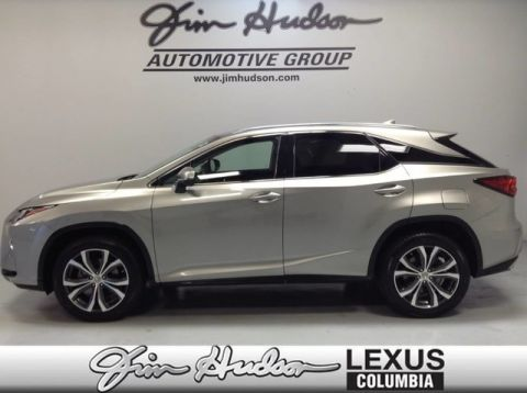 Pre-Owned 2017 Lexus RX 350 L/Certified Unlimited Mile Warranty, Navigation, Premium Package, Lexus Safety +, Blind Spot Monitor System