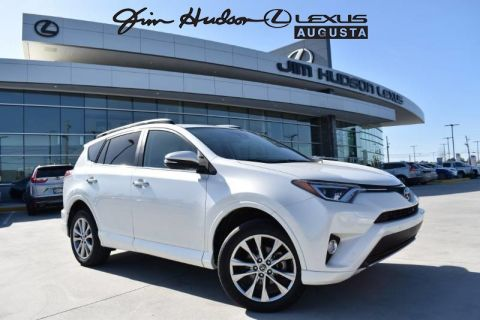 Pre-Owned 2017 Toyota RAV4 Platinum / Navigation w-Bluetooth