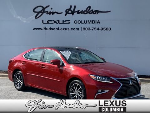 Pre-Owned 2017 Lexus ES 350 L/Certified Unlimited Mile Warranty, Panorama Glass Roof and Power Moon Roof, Luxury Package, Navigation, Lexus Safety System+, Blind Spot Monitor