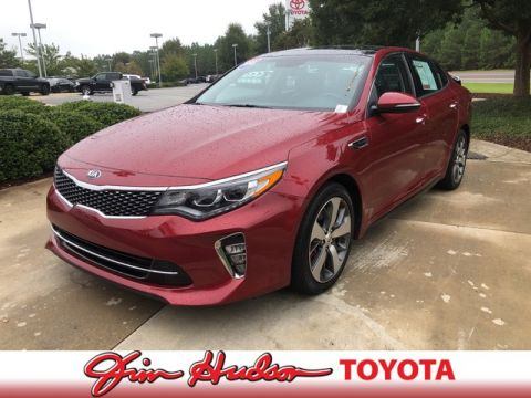 Pre-Owned 2018 Kia Optima SX TURBO w/ LEATHER HEATED & COOLED SEATS