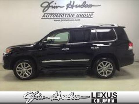 Pre-Owned 2014 Lexus LX 570 L/Certified Unlimited Mile Warranty, Navigation, Luxury Package, Dual Screen Rear DVD, Mark Levinson Audio, Pre Collision with Radar Cruise