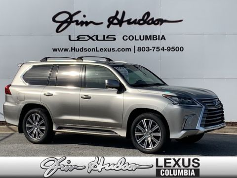 Pre-Owned 2017 Lexus LX 570 L/Certified Unlimited Mile Warranty, Navigation, Luxury Package, 20 Alloy Wheels, Tow Hitch with Ball Mount